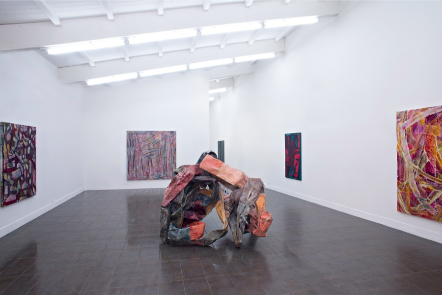 Gabriel Hartley,   installation view,   Courtesy Brand New Gallery,   2013,   Miano