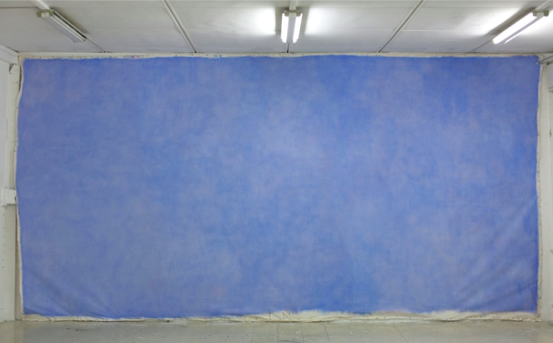 UNTITLED (CABLES) XI 2008. Oil on canvas,   288×190 cm. Courtesy The Artist,   Rome.