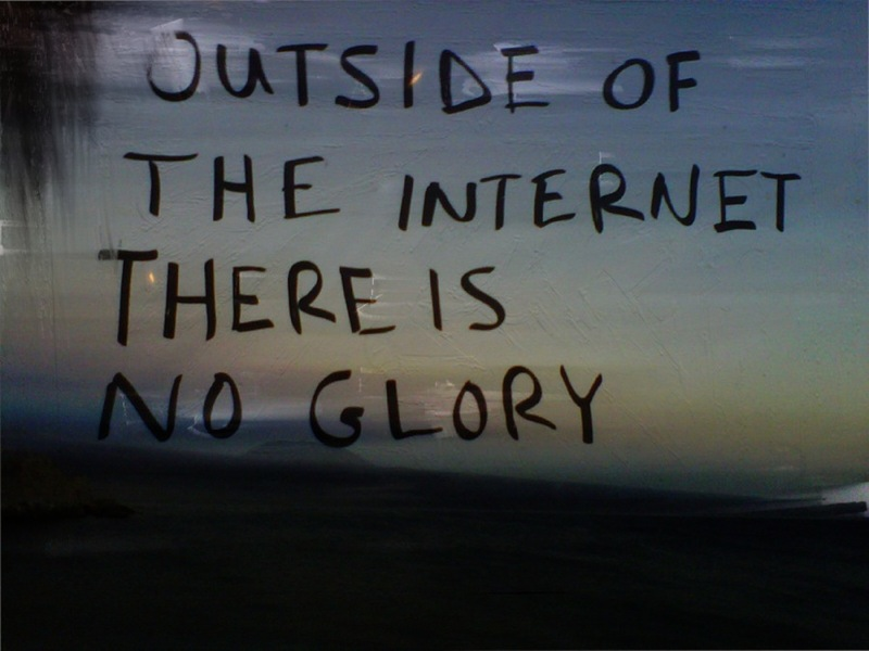 OUTSIDE OF THE INTERNET II 2012,   Computer print,   edition of 3,   102.4×76.7 cm. edition of 3