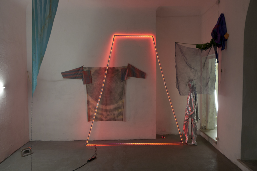 Installation view / first room