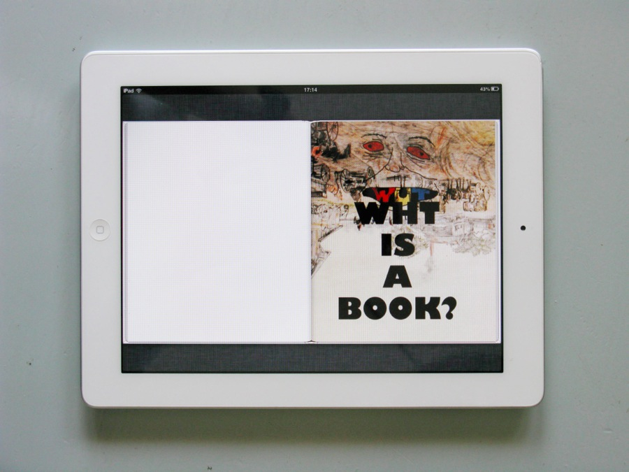EDITORIA DIGITALE 2013 | Wht is a book? by Paul Chan