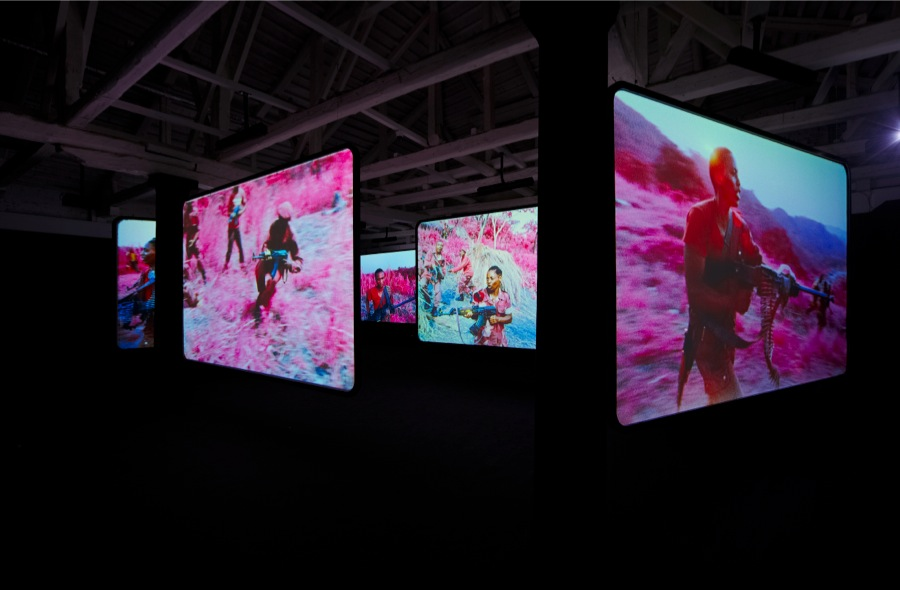 Richard Mosse The Enclave,   2013 Installazione video a 6 canali / 6-channel video installation Biennale di Venezia 2013 - Pavilion of Ireland Courtesy the artist and Jack Shainman Gallery,   New York
