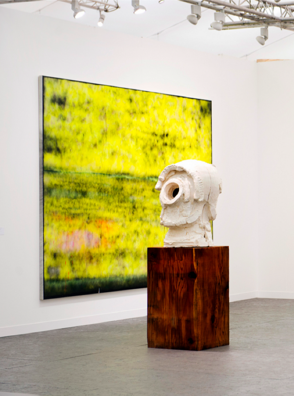 Sterling Ruby,   SP246,   installation view Frieze London 2013 - Hauser & Wirth Photograph Linda Nyland Courtesy Frieze