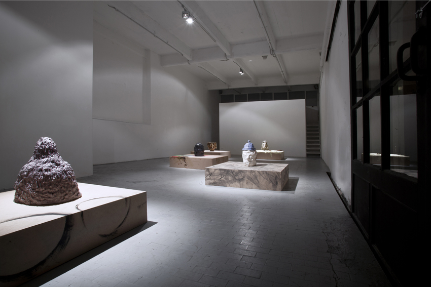 Jesse Wine,   Travelling white man,   installation view at CO2,   courtesy CO2,   photo M.G.Romiti