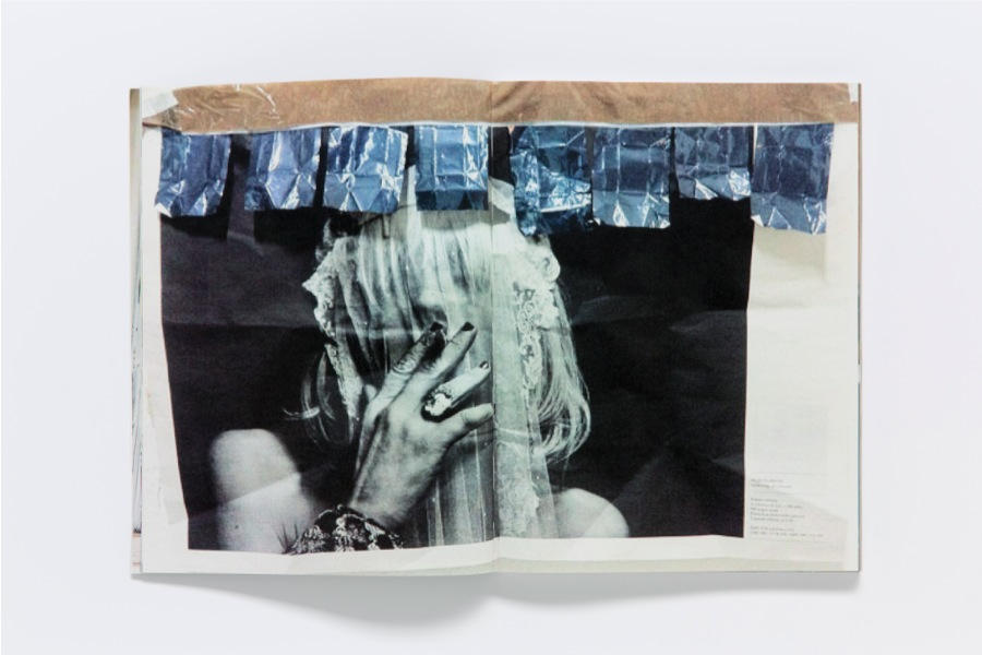 David HOMINAL Through the Windows Publication,   52 notes on paper (app. 7×14cm,   2010–2012) and several reproductions of paintings,   sculptures,   collages,   drawings and silkscreen prints. Digital coloured print on RecyStar paper 100 g/m2,   280 x 210 cm,   164 pages,   cover in black Balacron,   350 g/m2,   an edition of 270,   of which 10 are numbered and signed and contain original drawings. Photography: David Hominal. Graphic design: Niels Wehrspann in collaboration with David Hominal. Printing: PCL,   Lausanne. Binding: Schumacher AG,   Schmitten. Edition of the Centre d'édition contemporaine,   Geneva,   2013.  Courtesy Centre d'édition contemporaine,   Geneva Photo : © Sandra Pointet