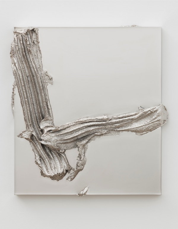 Jason Martin Ramblas,   2013 Nickel 62 x 48 x 8.5 cm © the artist; Courtesy,   Lisson Gallery,   London