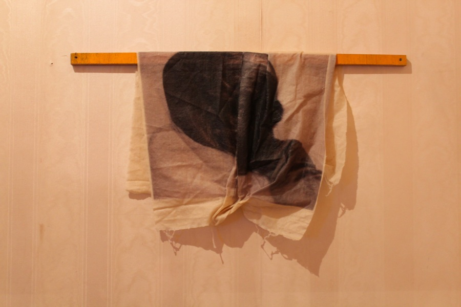 Hanne Lillee,   mostra Each Evening We See The Sunset,   Spazio Morris,   Milano 2013,    foto: Francesca Verga