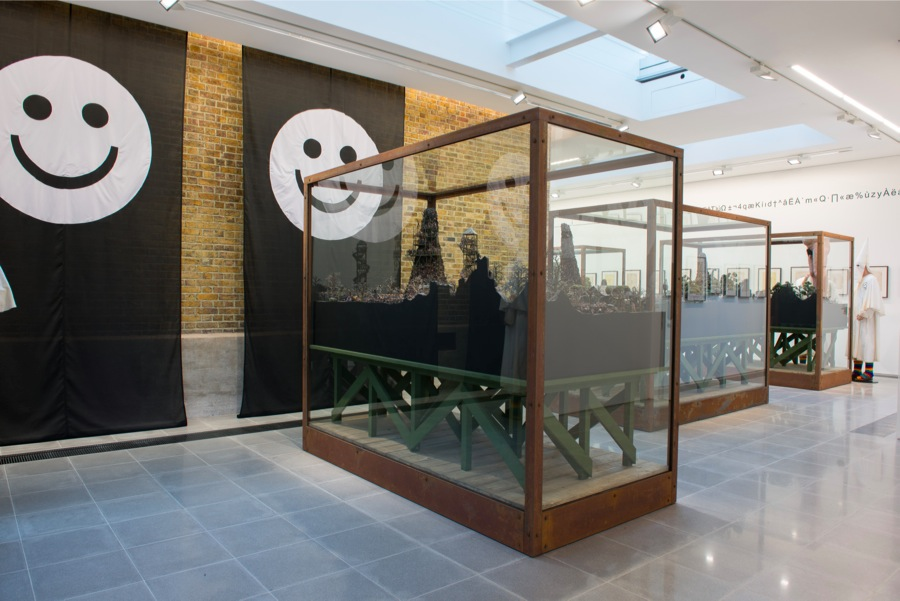 Jake and Dinos Chapman Installation view,   Come and See Serpentine Sackler Gallery,   London (29 November 2013 - 9 February 2014) © 2013 Hugo Glendinning
