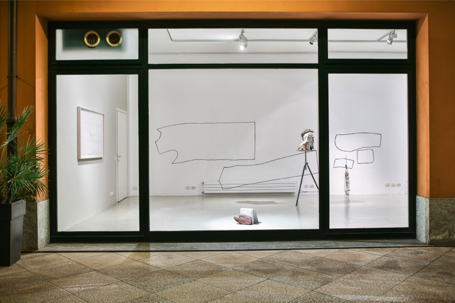 Concetta Modica,   Darlingtonia,   Bad New Business,   Milano - Foto di Marco Beck Peccoz - Installation view