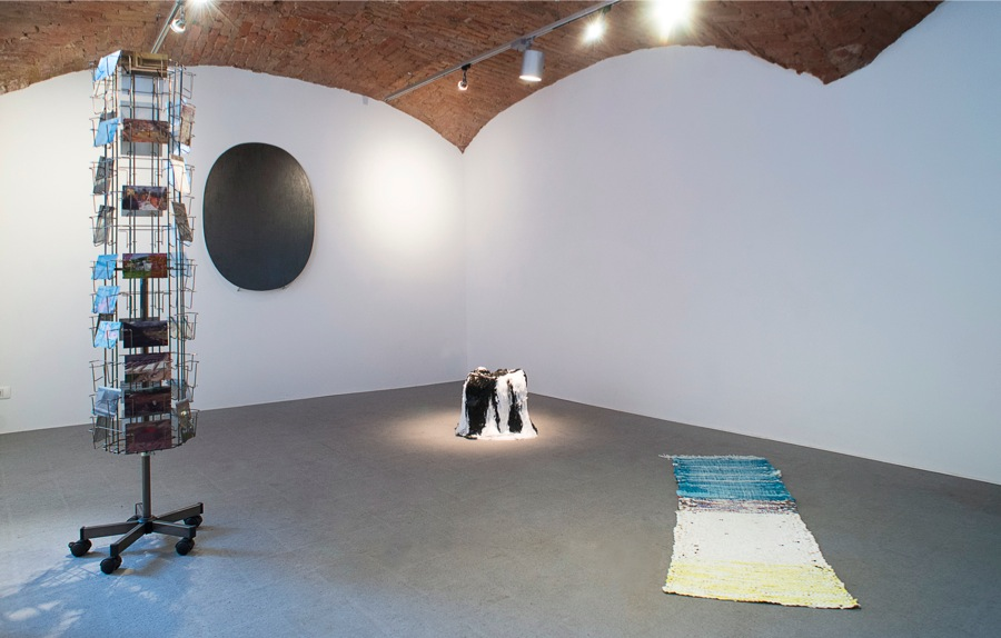 Exhibition view,   Pitture Imperfette,   Courtesy FuoriCampo,   Siena,   PH Francesco De Angelis