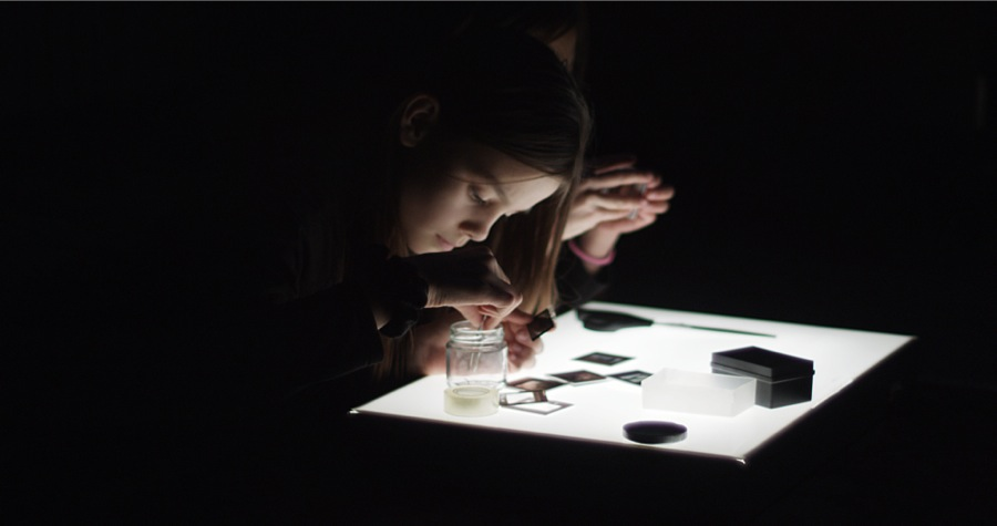Laurent Montaron,    Nature of the Self,   2014 Film,   1:1.85 17' 50'' Courtesy: the artist and Monitor,   Rome