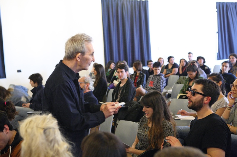 Die Young or Stay Pretty,   Incontro #2 - The artist as a taxi driver: Lecture di Jeff Perkins con Johanna Viprey e gli studenti del NABA,   Nuova Accademia di Belle Arti