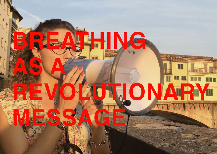 Breathing as a revolutionary message / Firenze 2014 - Studio++