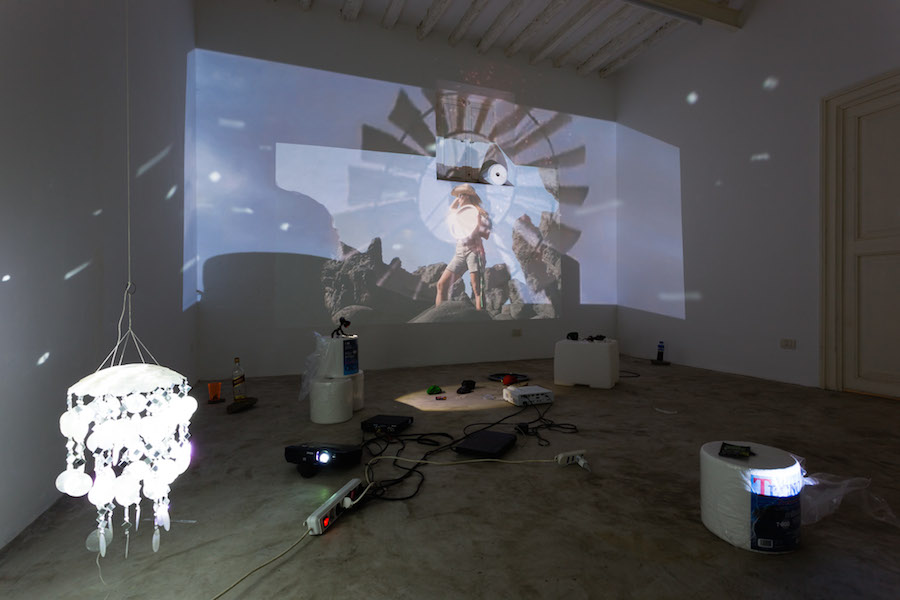 Video Installation by Trisha Baga with Jessie Stead Courtesy the artists and Fiorucci Art Trust Photography Lewis Ronald