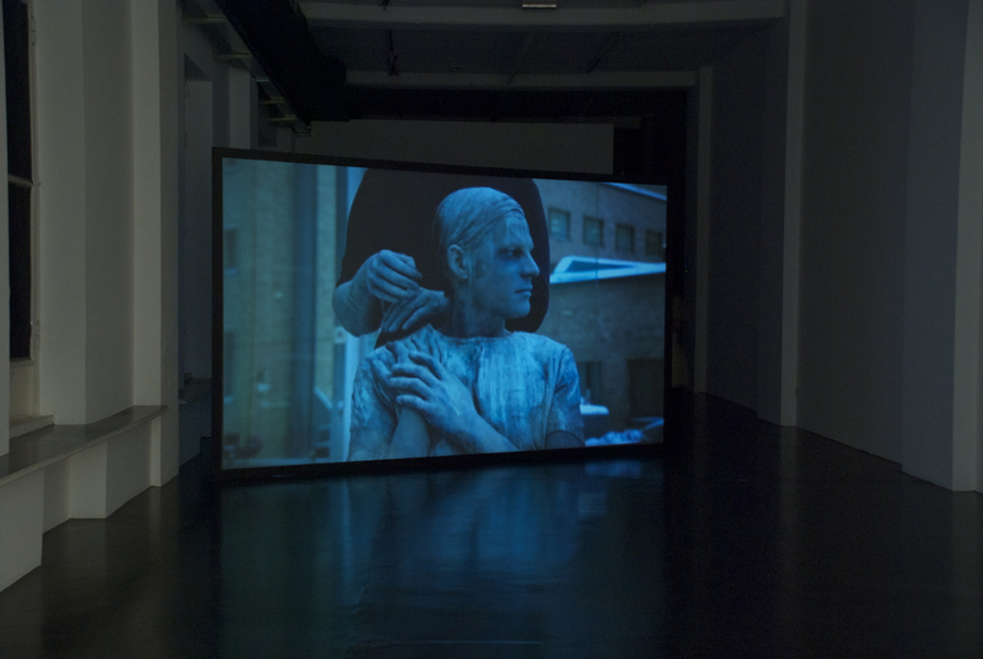 Jani Ruscica,   Screen Test,   OTTO ZOO Milano,   2014 installation view - Courtesy OTTO ZOO