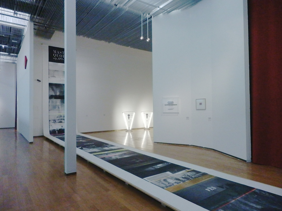 GLITCH – Interferenze tra arte e cinema in Italia,   PAC Milano  2014 - Installation view