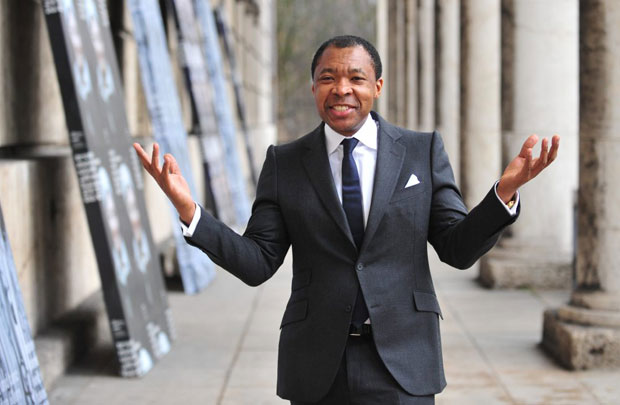 Okwui Enwezor,   director of the 2015 Venice Biennale
