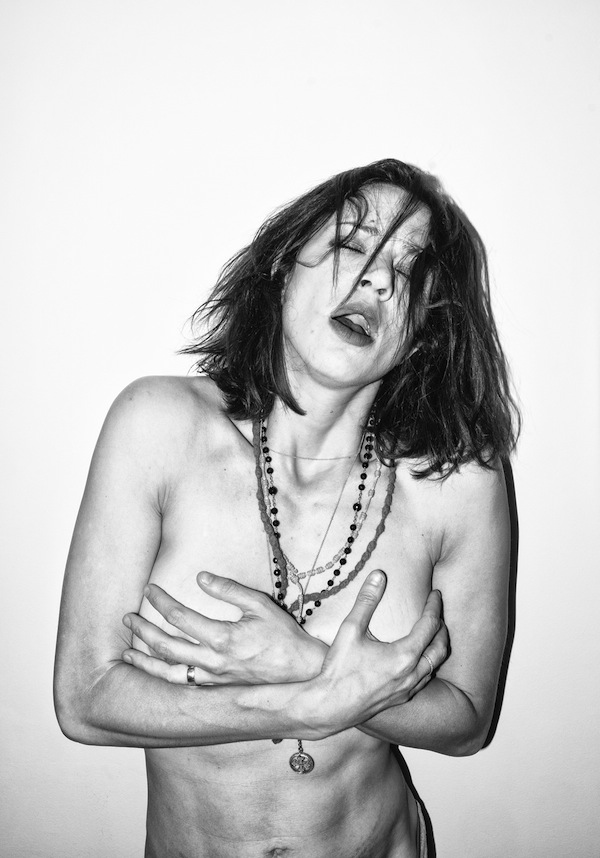 asia argento,   the eyes can see what the mouth can not say - Jacopo Benassi,   Federico Pepe