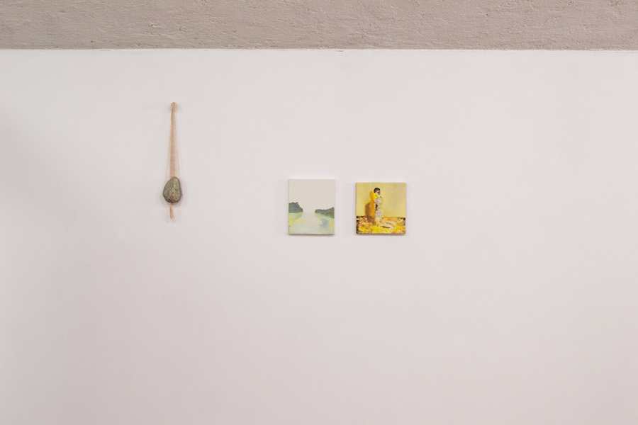 Yellow,   Let  There Be Light,   installation view