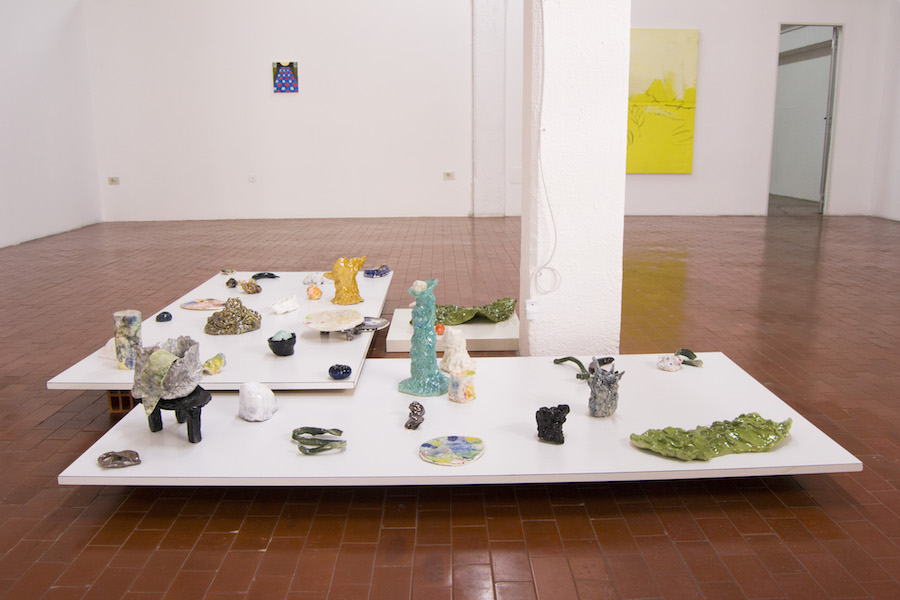 Yellow,   Let There Be Light,   installation view_ Lorenza Boisi