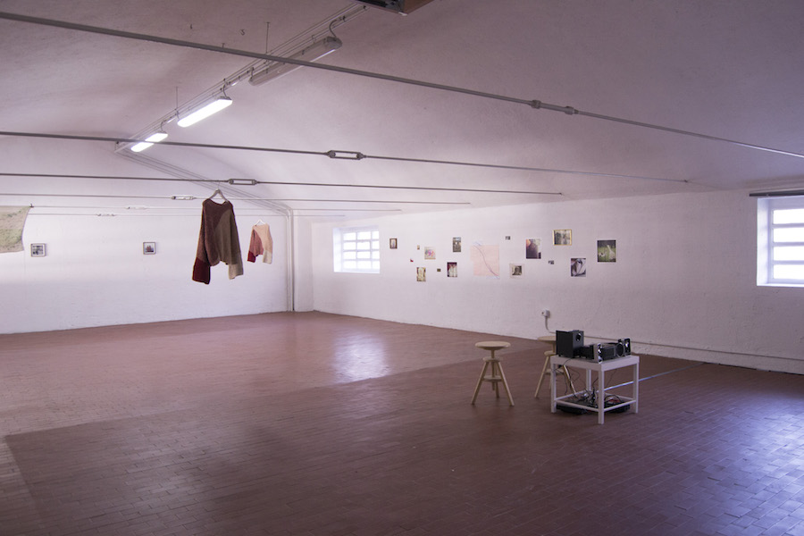 riss(e),   Lisa Mara Batacchi,   Soulmates (Within Time),    installation view