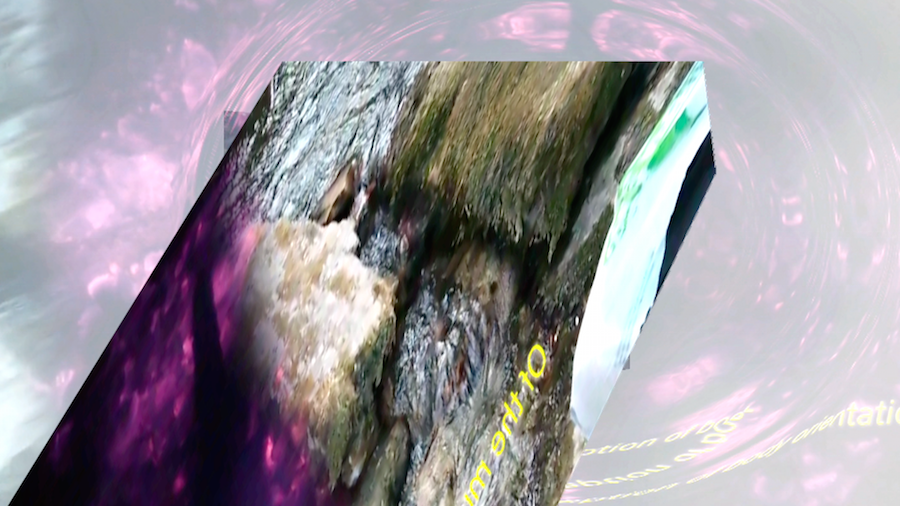 CRYSTAL BARK,   Alessandro Castiglioni,   Enrico Boccioletti,   Jean Pol Fargeau,   Adam Cruces,   still from HD video,   2014. All images courtesy of the artists