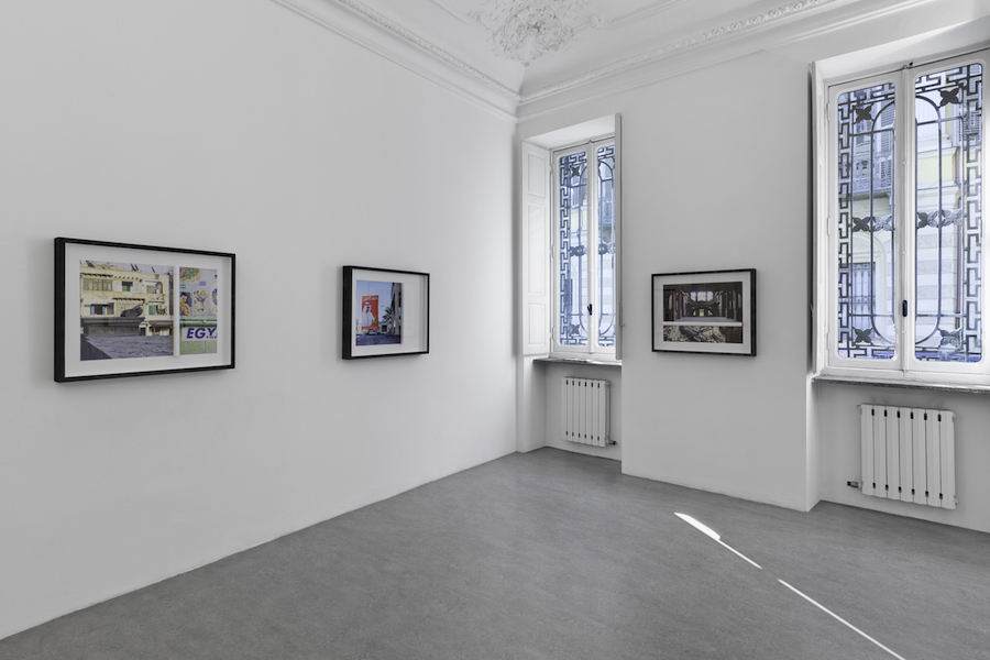 Eva Frapiccini,   Selective Memory,   Selective Amnesia,   installation view,   courtesy of Galleria Alberto Peola and the artist,   ph. Cristina Leoncini.