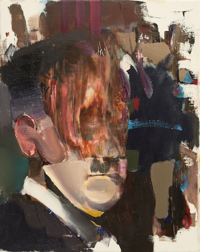 Adrian Ghenie, Untitled, 2012, Oil on canvas, 50 x 40 cm, Courtesy of the artist