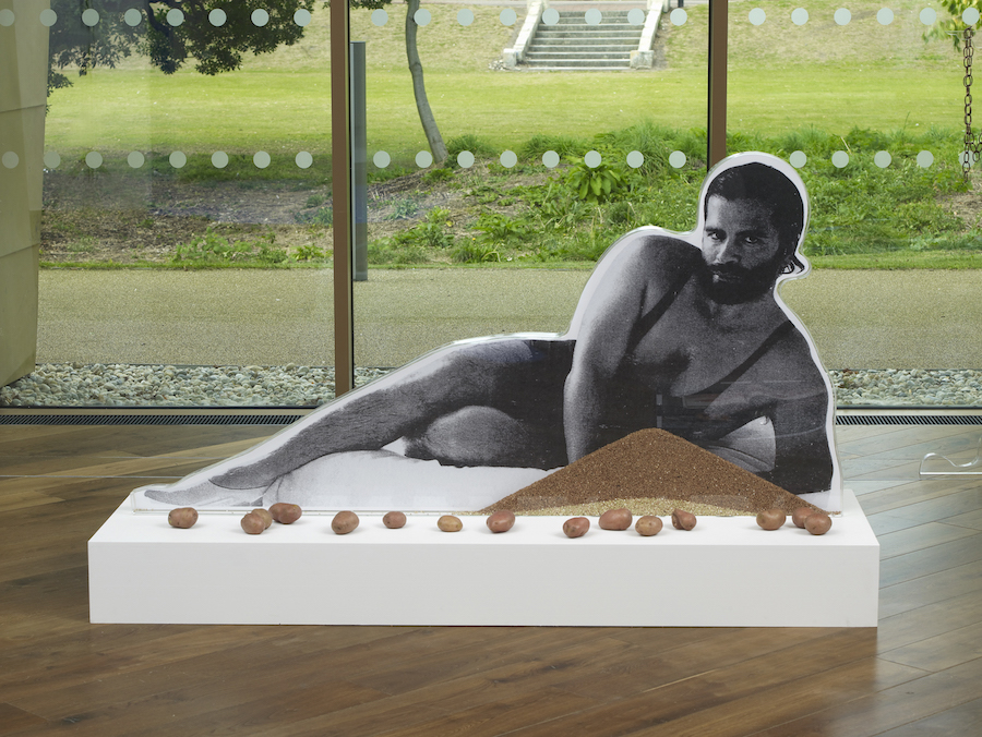 Anthea Hamilton,   Karl Lagerfeld Bean Counter,   2012 Courtesy de l'artiste © DR