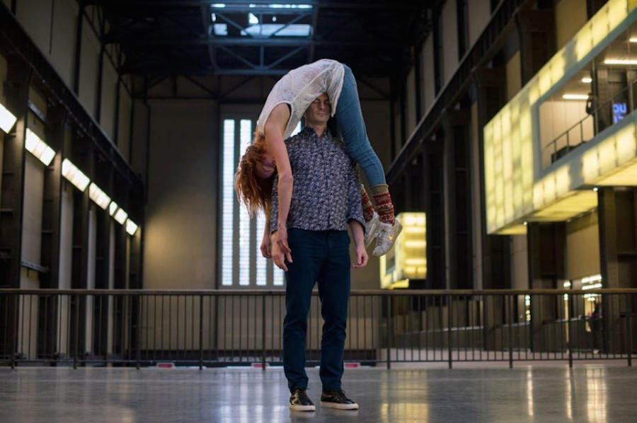 Boris Charmatz,   If Tate Modern was,   Musée de la danse 2015 Photo © Hugo Glendinning 2015