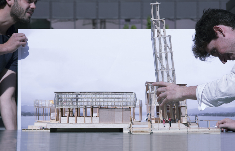 "Concept Visualization ""Pavillon of Reflections"" Copyright: ETH Studio Emerson"