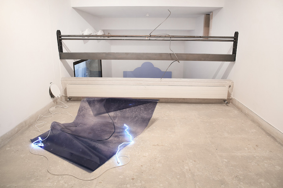 Silvia Mariotti,   Dawn On A Dark Sublime,   Installation view,   AplusA Gallery,   Venezia
