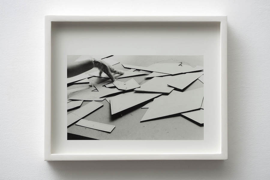 Jonathan VanDyke  Borromini Gelatin silver print Edition of 4 11 x 14 inches / 28 x 35,  5 cm 2015 Courtesy 1:9 Gallery,   Roma - Photos by Giorgio Benni