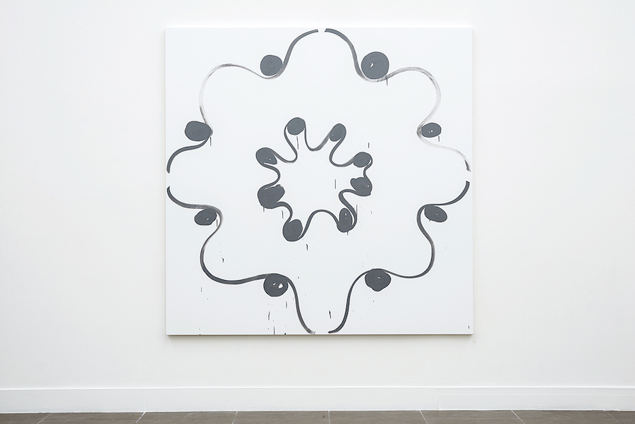 Amy Feldman,   Moon Decorum,   Installation view,   Brand New Gallery,   Milano