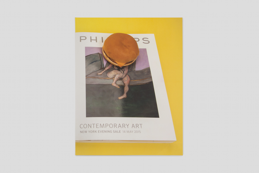 PHILLIPS CONTEMPORARY ART NEW YORK EVENING SALE 4 MAY 2015 is an artist's book by Marc Horowitz