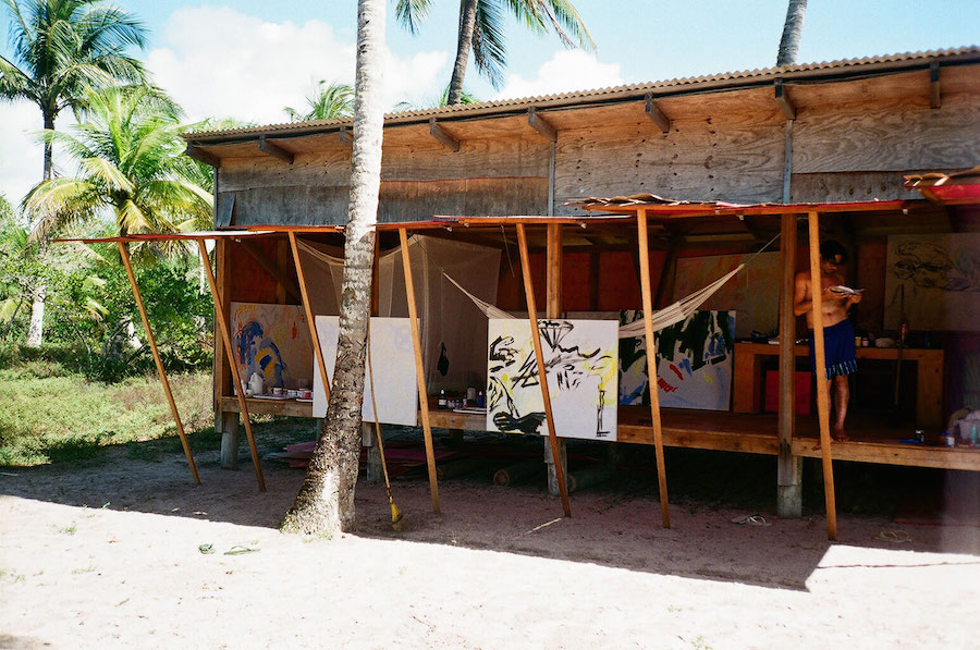 Images from the TwoHotel, July 2015, Piracanga Beach, Bahia, courtesy of the artists and Emalin