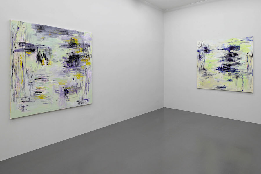 Louis Cane. Barley Sugar. Installation view at T293 Roma