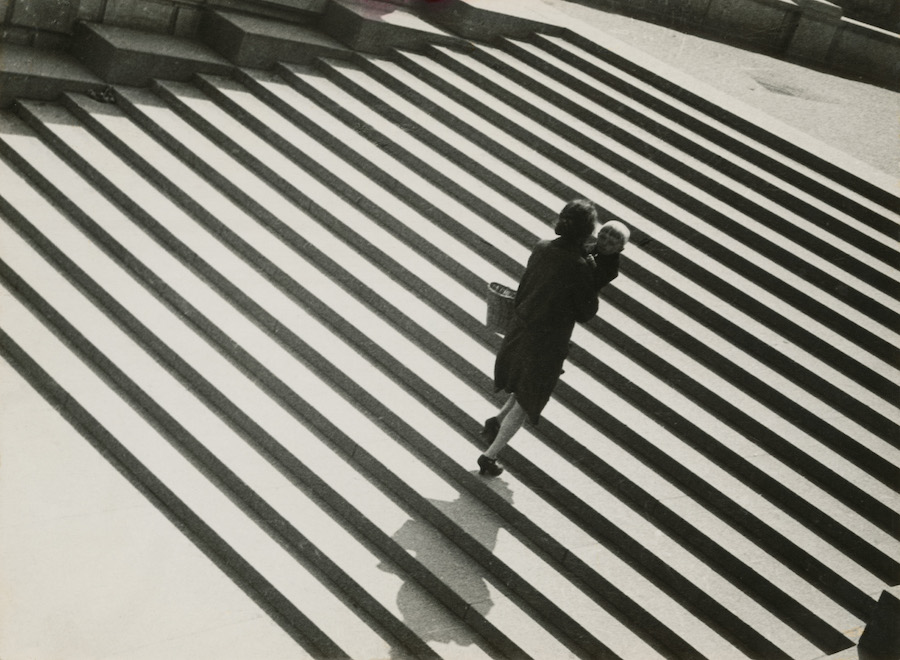 Rodchenko,   Stairs,   1930,   Collezione del Moscow House of Photography Museum