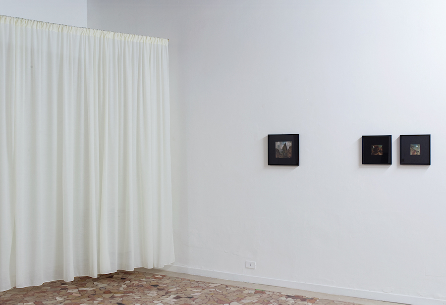 Davide Allieri, Résonance, installation view, courtesy dell'artista e Placentia Arte, foto Marco Fava