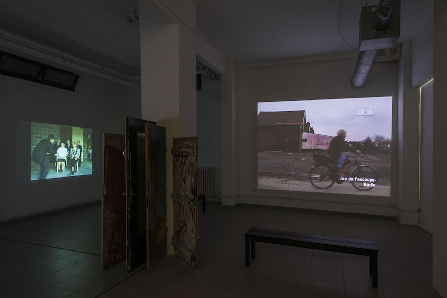 Bertille Bak,   Radice,   installation view (basement),   photo by Giorgio Benni