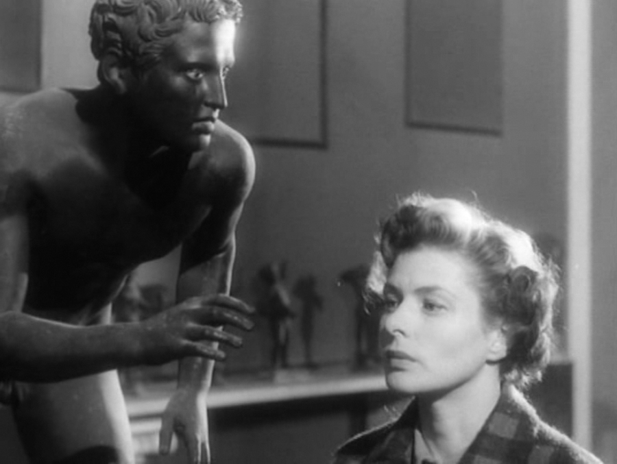 The Runners from the Villa Papiri Herculaneum,   c. 49 BCE-25 BCE - Viaggio in Italia,   R. Rossellini,   1954
