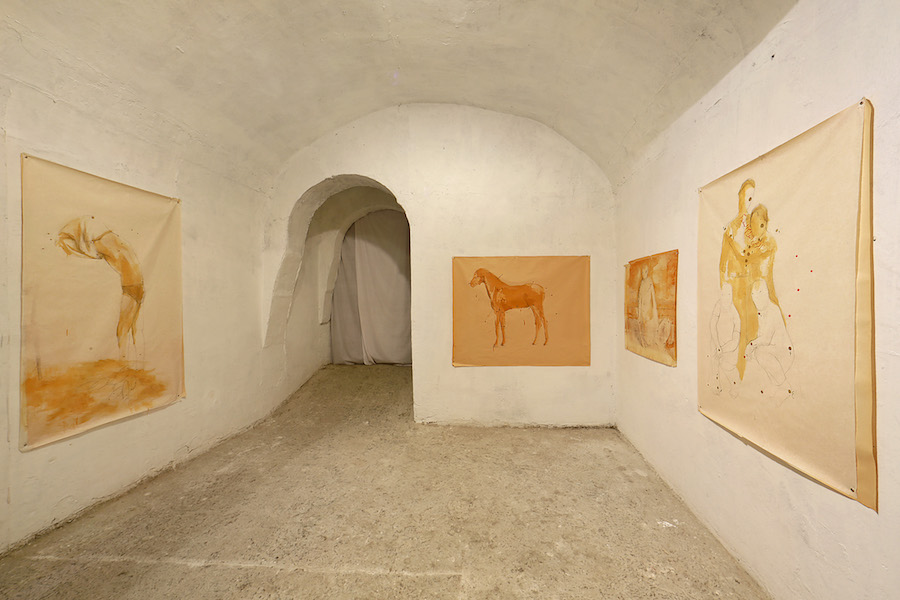 Avish Khebrehzadeh - Time Past Hath Been Long - Foto di Federico Ridolfi - Fondazione VOLUME! Roma