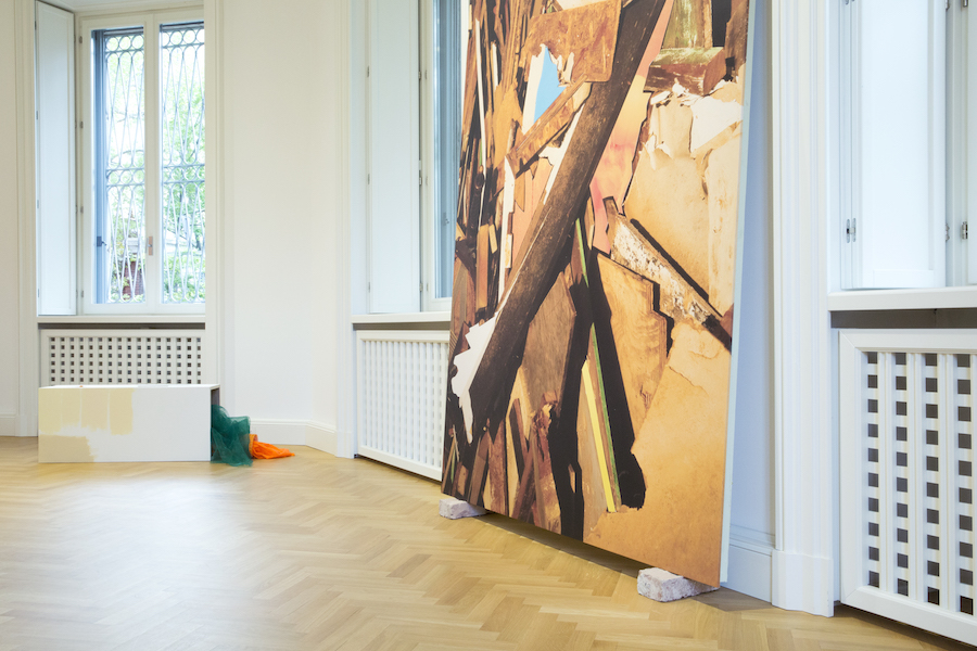 Lorenzo Vitturi,   Droste Effect Debris and Other Problems,   Installation View 11,    © Viasaterna