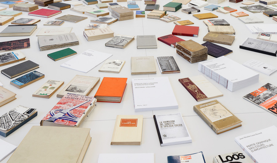 The books of the architecture of the city   ISR Milano