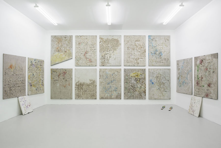 Quaranta -  Alessandro Piangiamore,   Installation view,   Magazzino,   Roma - Photo Roberto Apa