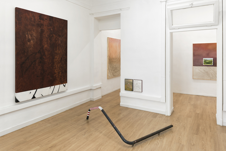 Cosimo Casoni,   The Sunday Side Clima,   Milano - Installation view