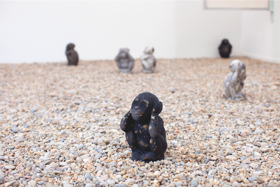 Jumpei Shimada,   Installation view (detail) from Ordinary Man (2015)