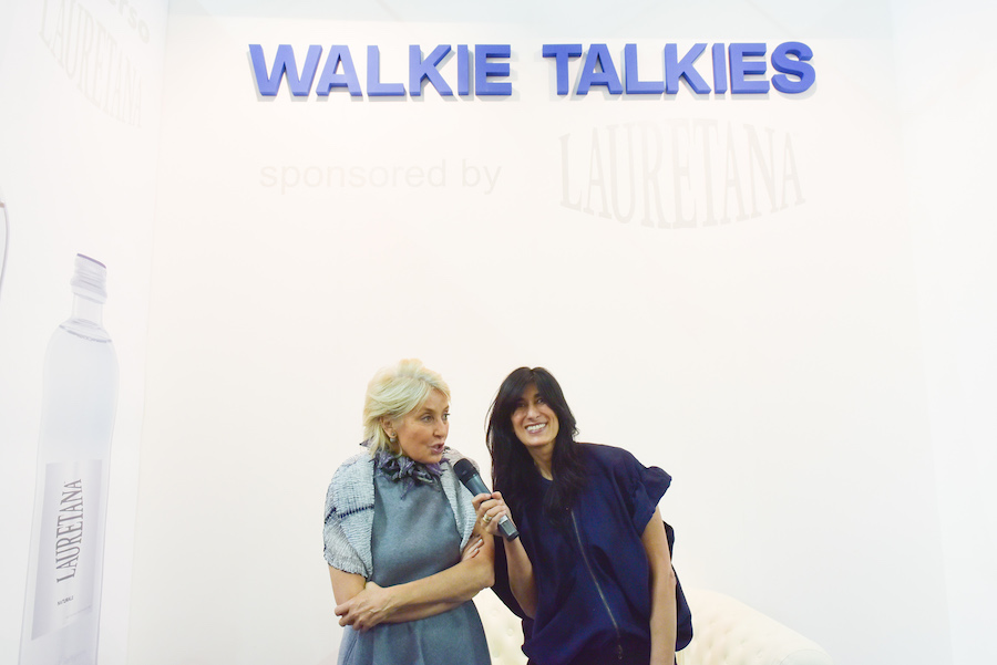 Artissima 2016 - Walkie Talkies - Abaseh Mirvali and Nicoletta Fiorucci
