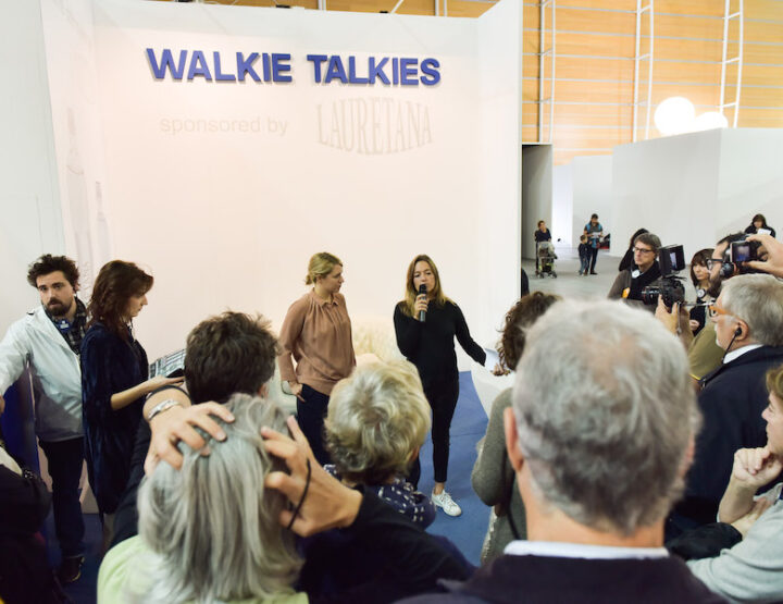 #ArtissimaLive   The fair on the move - Walkie Talkies