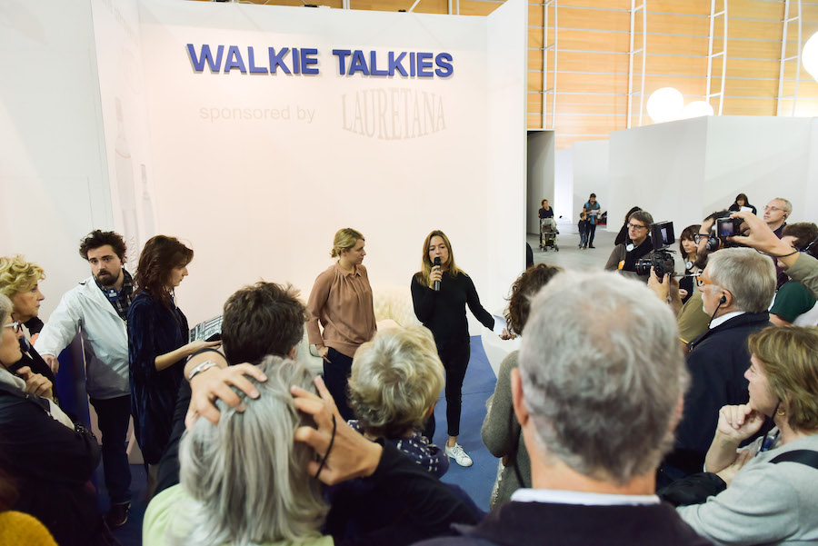 #ArtissimaLive | The fair on the move - Walkie Talkies